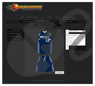 Our Hoops Design Tool
